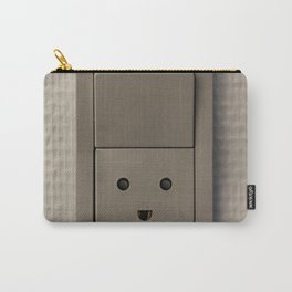 Smiling Power Outlet Carry-All Pouch