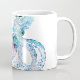 Vintage octopus colorized Coffee Mug