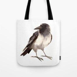 Crow decor, hooded crow art Tote Bag