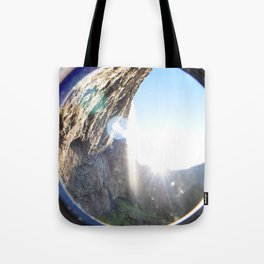 Life Between The Trees Tote Bag