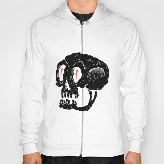 Milquetoast Skull Hoody
