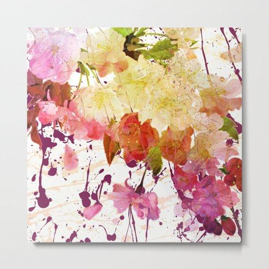 sweet spring floral Metal Print