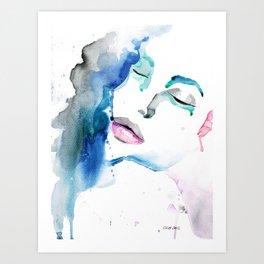 Angelina Two Art Print