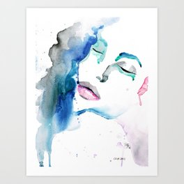 Angelina Two Art Print