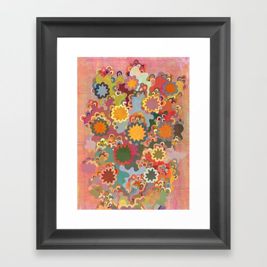 Sempervirent Framed Art Print