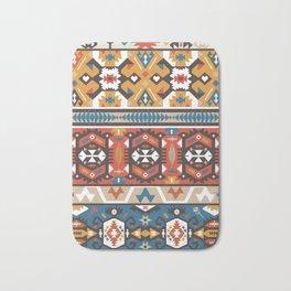 American indian ornate pattern design Bath Mat
