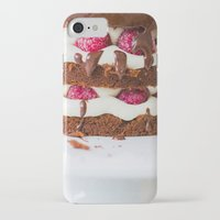cake iPhone & iPod Cases featuring Cake by Jovana Rikalo