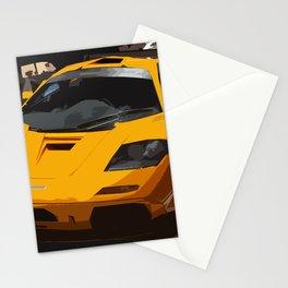 F 1 LM in Papaya Orange Stationery Cards