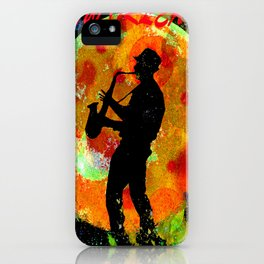 New Orleans JAZZ iPhone Case