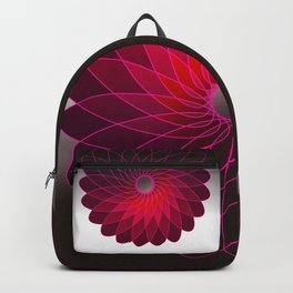 red shining gyro Backpack