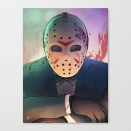 Sexiest Killer Alive Canvas Print