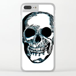 Skull I Clear iPhone Case