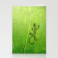 lizard Stationery Cards featuring lizard by Antracit