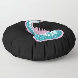 Snake 1 Floor Pillow