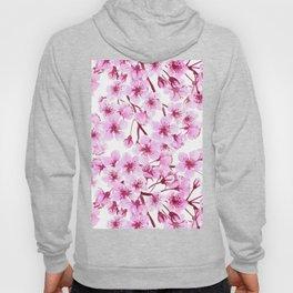 Cherry blossom pattern Hoody