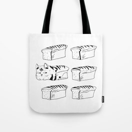 My Cat is Bread Tote Bag
