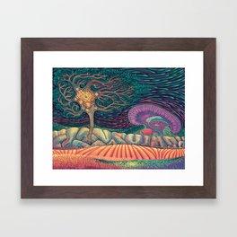 01 - Brain Forest Framed Art Print