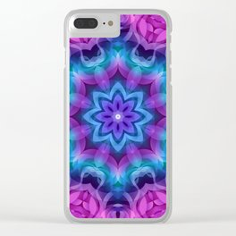 Floral Abstract G269 Clear iPhone Case