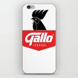 Gallo Cerveza - Best Beer In Guatemala Central America iPhone Skin