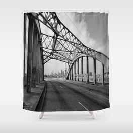 Sixth Street Viaduct Bridge - LA 02/30/2016 Shower Curtain