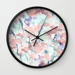 Divine Feminine Pale Coral Wall Clock