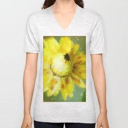 Straw flower Unisex V-Neck