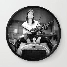 Vivian Del Rio Wall Clock