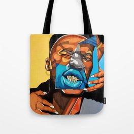 Gold Teeth Tote Bag