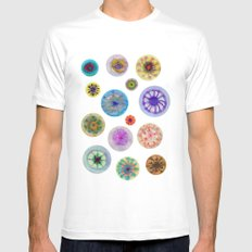 Jellies White Mens Fitted Tee SMALL