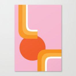 Rolling Sun Canvas Print