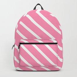 Musk Stick Diagonal Stripes Backpack