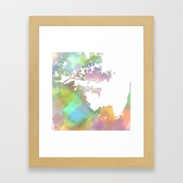 Up Over the Mountain Framed Art Print