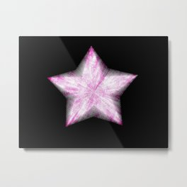 Star on the Rise Metal Print
