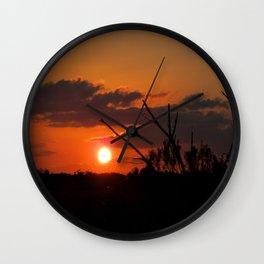 The Beautiful Sunset Wall Clock