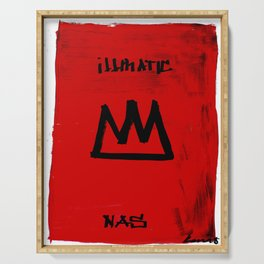 KiNG iLLMATIC NaS Serving Tray