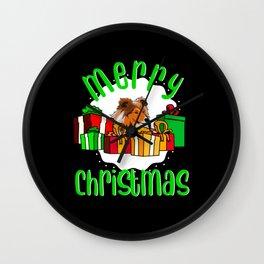Sheltie Shetland Sheepdog Christmas Gift Idea Wall Clock