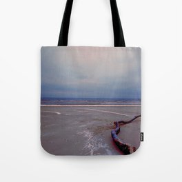 Logging by the sea Tote Bag