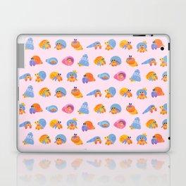 Hermit Crab - pink Laptop & iPad Skin
