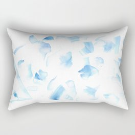 180527 Abstract Watercolour 6  Watercolor Brush Strokes Rectangular Pillow
