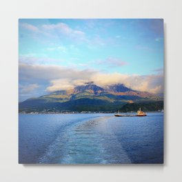 Escape from Cherry Island Metal Print