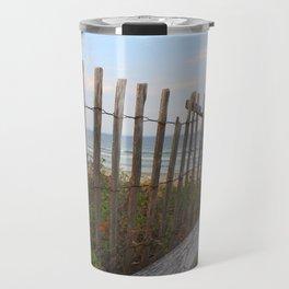 Maine Beach Travel Mug