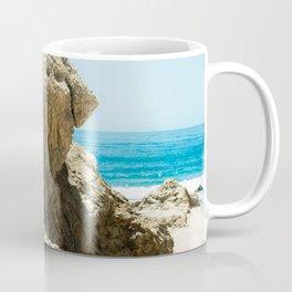 Rockface at Crystal Cove Coffee Mug