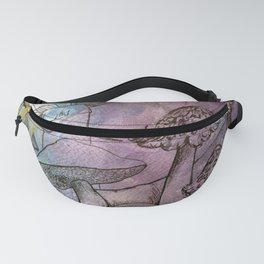 Ink Caps Fanny Pack