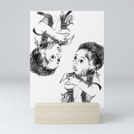 Buttery dreams Mini Art Print