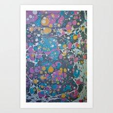 Marble Print #7 Art Print