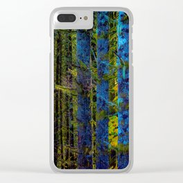 Birch in Morning Light Clear iPhone Case