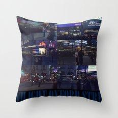TWILIGHT OXFORD STREET Throw Pillow