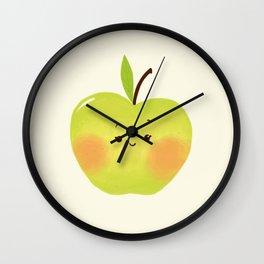 Alyson la pomme Wall Clock