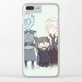 Game Of Schwift Clear iPhone Case