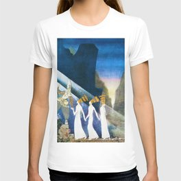 12,000pixel-500dpi - Kay Nielsen - Young Soldier Delivering Three Princesses T-shirt